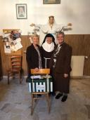 CHRISTMAS VISIT TO THE POOR CLARE SISTERS IN ROME